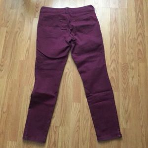 Maurices Pants - Maroon jeggings